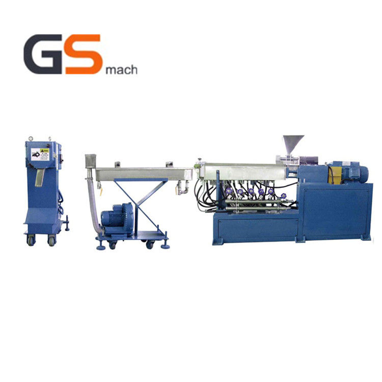 Desktop Lab Single Screw Extrusion Machine Pelletizing Line For Home Use