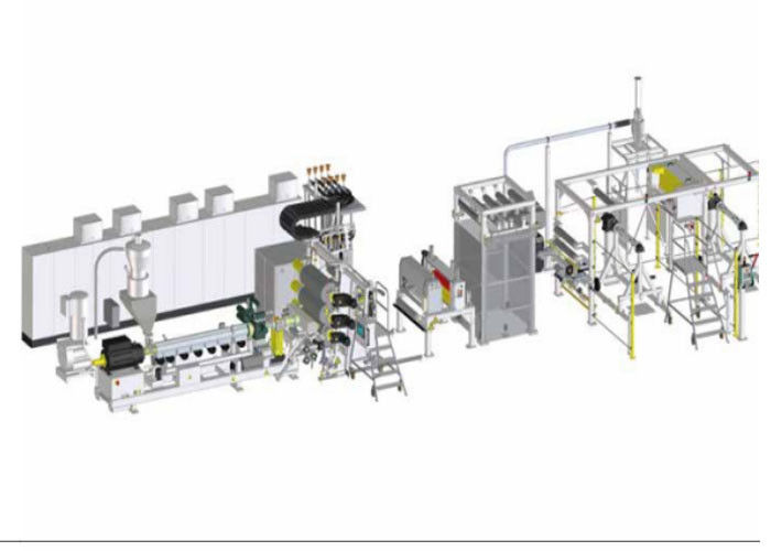 Industrial Plastic Sheet Extrusion Machine PVDF Fluoroplastic Single Layer Sheet Extrusion Line